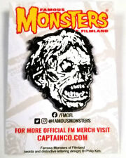 Famous Monsters Shock Monster Pin NEW Retro Vintage Horror