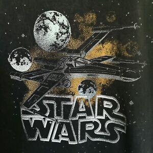 Star Wars X-Wing Black Singlet Men's Medium By Mad Engine