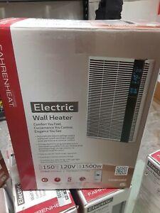 NEW!!  FAHRENHEAT 120 Volt 1,500 Watt 5120 BTU/H Electric Wall Heater