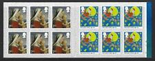 GREAT BRITAIN 2017 CHRISTMAS 1ST CLASS CYLINDER BOOKLET UNMOUNTED MINT, MNH