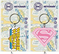 Wonder Woman Super Women Keychain Keyring DC Comics Diana Prince Girlfriend Gift