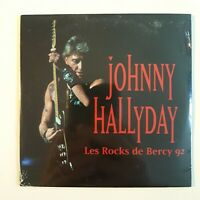 JOHNNY HALLYDAY ♦ CD NEUF SOUS BLISTER ♦ LES ROCKS DE BERCY