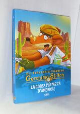 GLI STRATOPICI VIAGGI DI GERONIMO STILTON - N. 9 - LA CORSA PIU' PAZZA D'AMERICA