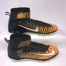 Nike 847588-025 Mens Lunar Beast Elite Td Pf Football Cleats Black Gold Size 15