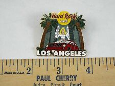 HARD ROCK CAFE  PIN LOS ANGELES ANGEL WITH PALM TREES & CAR