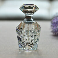 Crystal Art Glass Elegant Vintage Empty Perfume Bottle New Fashion Gift Decor