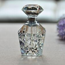 Crystal Art Glass Elegant Vintage Empty Perfume Bottle New Fashion Gift Decor
