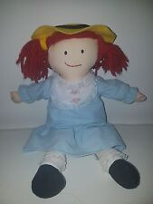 1994 Eden 14 Madeleine Plush Rag Doll In Removable Dress With Stitches On Belly