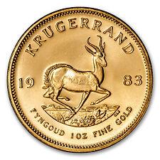 1983 South Africa 1 oz Gold Krugerrand - SKU #88134