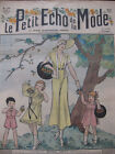 Aout 1932 Le petit écho de la mode N°33 Hebdomadaire féminin Illustré