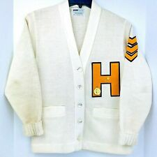 Vintage Howe 38 Amf Letterman Official Award Sweater Cardigan Tennessee American