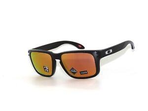 Oakley Holbrook XS 9007-07 Polished Black Prism Rose Gold Polarized Sunglasses