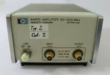 HP Hewlett-Packard 8447C Amplifier 30/300 MHz, Tested hs (2)