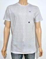 Hollister Mens Must Have Crew Neck T-Shirt Tee Heather Grey Large L RRP £14