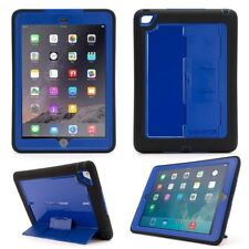 Griffin Survivor Slim Funda para Aire de Apple Ipad 2 - Negro/Azul