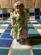 """New Emmie 8"""" Porcelain Doll of The Month May Green Emerald Russ Berrie"""