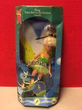 Peter Pan Flying Tinker Bell Doll Disney Mattel 1997 Used Broken
