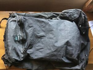 Zpacks Arc Zip 57L Backpack Cuban Fiber Dyneema Composite +Accessories