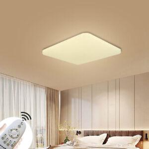 36W LED Dimmbar Badleuchte Schlafzimmer Lampe Deckenleuchte Küchen Flurleuchte
