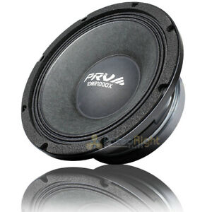 "PRV Audio 10"" Mid Range Speaker 1000 Watts Max 8 Ohm Car Audio 10MR1000X Single"