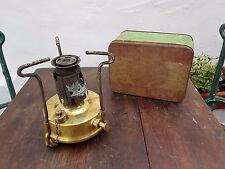 Vintage BURMOS No 21 camping stove, needs restoration..