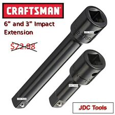 CRAFTSMAN 1/2 DRIVE 6 and 3 IMPACT SOCKET EXTENSION    10