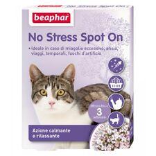 Beaphar no stress Spot On 3 pipette antistress per Gatto trasporto Viaggio Disag