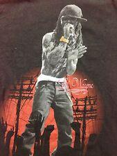 Used Lil Wayne Rap Rock Small T Shirt Punk Band Music Hip Hop Tour Gangsta Thug