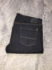 Levi Strauss & Co. Authentic Signature Slim Straight Dark Wash Jeans 38 x 32