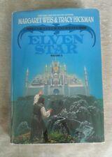 Elven Star Death Gate Cycle 2 Tracy Hickman Margaret Weis Vintage 1990 HCDJ BCE