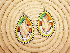 New African Maasai Earrings Masai Massai Africa S/M jemo401