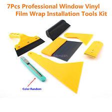 7x Car Window Tint Tools For Autos Film Tinting Scraper Application Installation