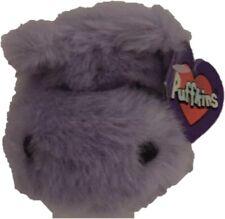 SWIBCO PUFFKIN HENRIETTA HIPPO HIPPOPOTAMUS PLUSH STUFFED ANIMAL BEANIE Purple