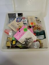 Lot of Vintage Miniature Doll Household Items Crafts, Parts, Kitchen Ware Misc.