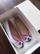 NIB Charlotte Olympia Pomeranian Dog Ballet Flats Shoes Sz 35.5 ( US 5.5-6)