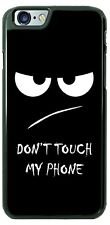 Don't Touch My Phone Case for iPhone X 8 PLUS Samsung 9 Google Pixel 2 LG G7 etc