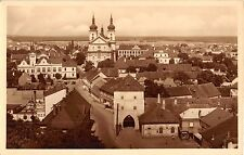 STARA BOLESLAV CZECHOSLOVAKIA CELKOVY POHLED PHOTO POSTCARD 1954