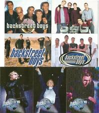 Backstreet Boys Black & Blue Full 54 Card Base Set of Trading Cards