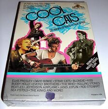 NEW - COOL CATS 25 YEARS OF ROCK N ROLL Style Bowie Sex Pistols The Who MGM BETA