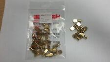 Brass Shelf Support, 7mm - Spoon Shape (Pk20) 282.01.505 (Hafele)