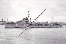 rp13338 - Royal Navy Warship - HMS Wessex D43 , built 1918 - photo 6x4