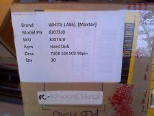 New Seagate Maxtor 8j073j0 72GB 73GB 10K SCA U320 Ultra 320 SCSI Hard Disk