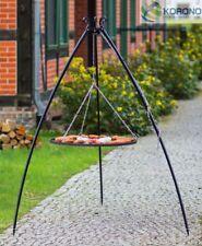 Dreibein Schwenkgrill Gartengrill BBQ Holzkohlegrill Rostgröße 50 cm - Stahl