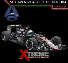 AUTOART 18121 1:18 MCLAREN MP4-30 F1 2015 BARCELONA/SPAIN F. ALONSO #14