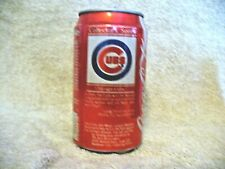 """Mlb - """"Collector's Series""""- Chicago Cubs - Coca-Cola Can - Vintage"""