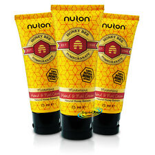 3x Nulon Pomegranate Natural Honey Extract Moisturising Hand & Nail Cream 75ml
