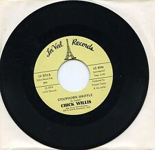 """7"""",RARE MINT,SOUL,CHICK WILLIS, STOOPDOWN SHUFFLE & STOOP DOWN BABY NO.2, LA VAL"""