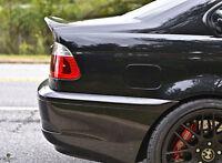 BMW E46 M3 2 DOOR REAR BOOT WING SPOILER CSL STYLE CARBON FIBRE LIP  Z1006