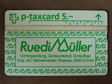 kaart MINT Ongebruikt Zwitserland  -  RUEDI MÜLLER