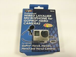 Vidpro XM-G Pro Lavalier Microphone for GoPro, Action Cameras & Smartphones